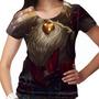 Camiseta League Of Legends Bardo O Protetor Andarilho Femini