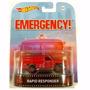 Hot Wheels Retro  Entretenimento Emergency Rapid Responder