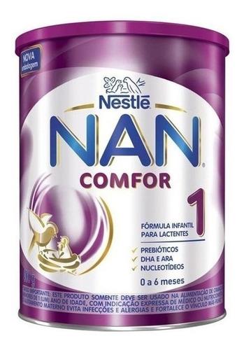 Fórmula Infantil Em Pó Nestlé Nan Comfort 1 Em Lata De 800g