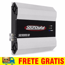 Modulo Potencia Soundigital Sd3000 Sd3k 3000w Digital 2 Oh