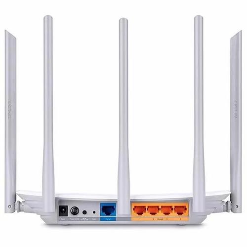 Roteador Wireless Dual Band Ac1350 Archer C60 V2 Tp-link Nfe