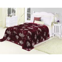 Cobertor Casal Nobre Cherry