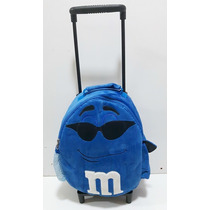 Mochila Infantil M&m Mm Mem - Produto Original #m&m