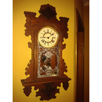 Relíquia: Ansonia Bedford Parlor Wall Clock - New York/1894