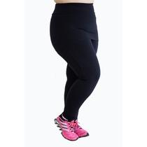 Roupa Academia Plus Size - Calça Legging Saia - Moda Fitness