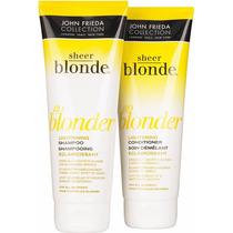 John Frieda Kit Shampoo + Condicionador Sheer Blonde