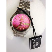 Relógio Automático Aço Orient - Frete Gratis Ref.0301xh9
