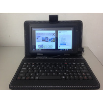 Capa Teclado Tablet Cce Lg Tectoy Foston 7 Polegada Mini Usb
