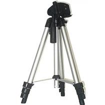Tripe Universal Aluminio 1.20mt Camera Filmadora Telescopio