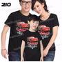 Lembrança De Aniversario Carros Macqueen Camisetas Kit Com 3