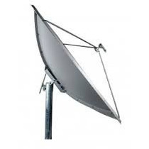 Antena Parabolica De Chapa Banda C 1,50 Mts + Kit Cabo