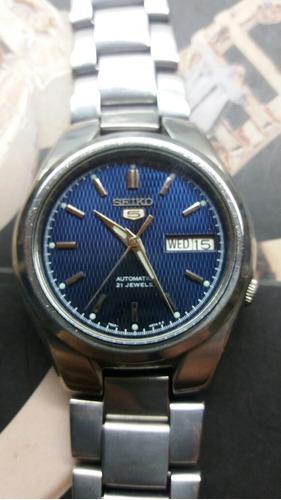322b2cd458c Relógio Seiko Automático Masculino Seminovo Minha Coleção