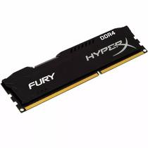 Memória Kingston Hyperx Fury 8gb 2400mhz Ddr4 Gamer Cl15