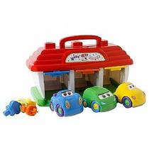 Brinquedo Baby Garage Carrinhos Big Star 577
