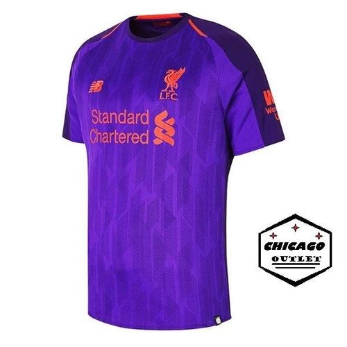 aabb1b1af0 Camisa Liverpool Reserva 2018/2019 Original + Frete Grátis. R$ 120