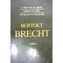 Teatro De Brecht - Lote De 4 Livros Galileu E Outras Peças