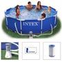 Piscina Intex 4485 Litros Estrutural Bomba Filtrante Filtro