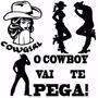 Adesivos Country - Cowboy - Carro E Moto - Frete Grátis