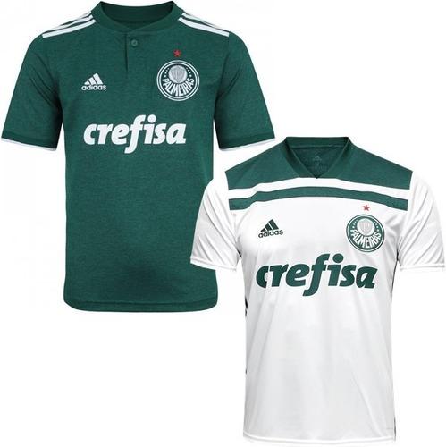 7a884ff106 2 Camisa Do Palmeiras 2018 Blusa Verde Oferta 40% Envio 24hs