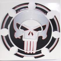Protetor Bocal 3d Tanque Punisher Moto Honda Cb 600 F Hornet