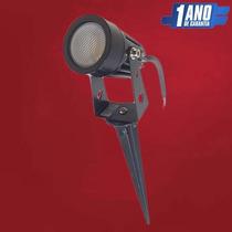 Espeto Led Luminária Holofote Para Jardim 4w Varias Cores