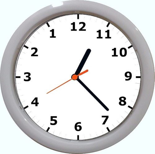 29f4471af91 Kit 3 Relógios De Parede Funciona Em Sentido Anti Horário