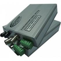 Conversor Optico - 1 Video/1 Audio - Hibrido - Rx