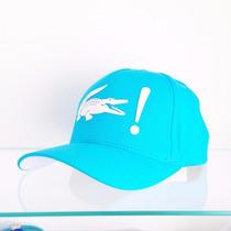 Boné Lacoste Original Azul - Promoção Imperdível