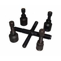 Kit Com 5 Ferramentas P/ Sacar Magneto Rotor Uso Universal