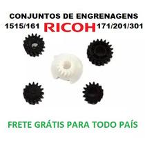 Ricoh 1515/161/171/201 Conjunto De Engrenagens Da Reveladora