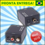 Conversor De Audio Digital Para Rca - Ligue A Tv Nova No Som