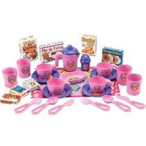 Conjunto De Xicara Infantil Meu Chazinho Brinquedo Menina