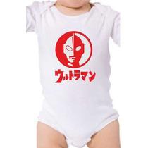 Body Baby Ultraman Ultraseven Super Herói Japones Anos 80 90