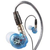 Fone In-ear Profissional (monitor Retorno Pessoal) Moxpad X3