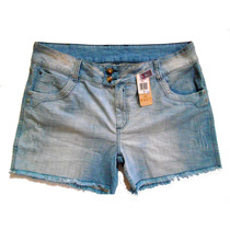 Shorts Customizado Renda E Pérolas Plus Size Tam 48