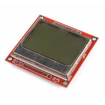 Display Lcd Nokia 5110 84x48 Gráfico - Engineerstore