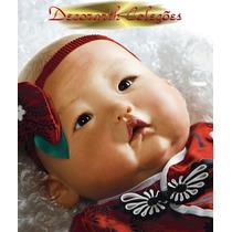 * Mei Boneca Parece Real = Reborn Oriental Asiática Japonesa