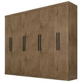 Guarda-roupa Casal 8 Portas - Araplac 1684 Linha Prime