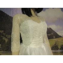 Bolero Para Vestido De Noiva Casamento De Renda
