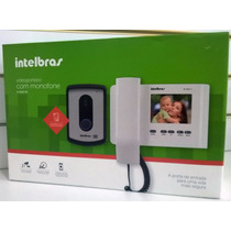Video Porteiro Com Monofone Intelbras Iv 4010 Hs