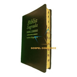 Bíblia Sagrada Letra Gigante Com Harpa Ed Promessas Preta