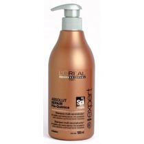 Loreal Shampoo Absolut Repair Pós Química Spirulin Spi 500ml