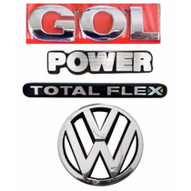 Emblema Gol G3 Power + Vw Grade- Geração 3 - Modelo Original