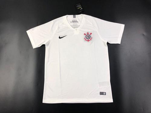 Camisa Corinthians Nike 2018 2019 Lançamento - Frete Gratis. R  160 4fce981b9b77b