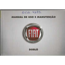 Manual Proprietário Doblo 2011 C/suplementos E Bolsinha Orig
