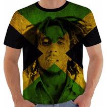 Camisa Camiseta Baby Look Regata Bob Marley Reggae Jamaica 2
