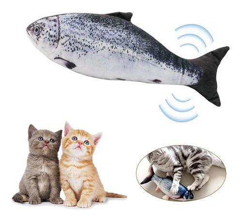 Usbcharging Elétrica Simulação De Peixe Gato Brinquedo Engra