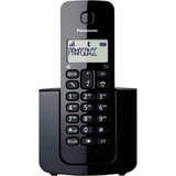 Telefone Fixo Sem Fio Panasonic Dect 6.0 Kx Tgb110lbb Preto