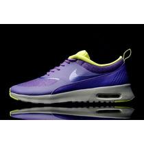 Tênis Nike Air Max Corrida Thea Premium - Feminino Retrô