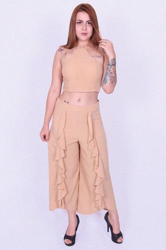 ab7eaa2611d Conjunto Pantalona Nova Paran 9029 - Asya Fashion